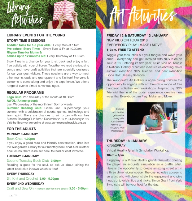 Summer in the Parks_activities